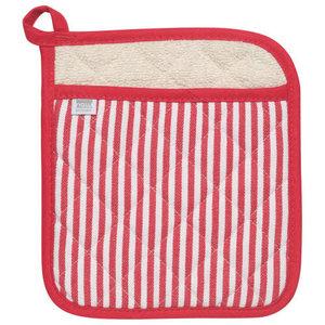 Danica Pot Holder Superior Narrow Stripe Red
