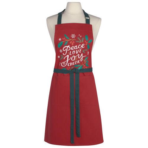 Danica Apron Chef Peace & Joy
