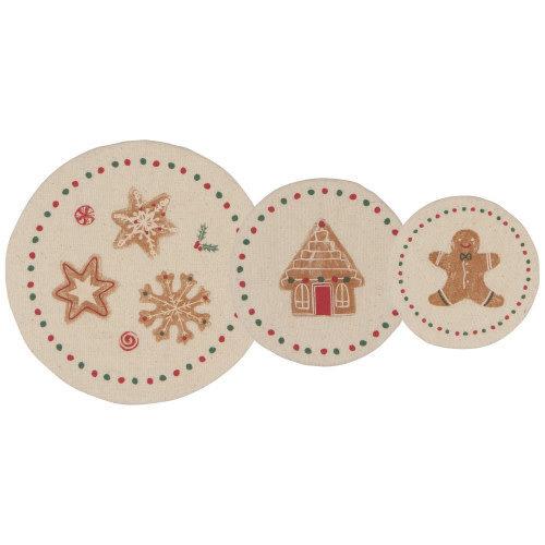Danica Bowl Cover Mini XMAS Cookies/ Set of 3