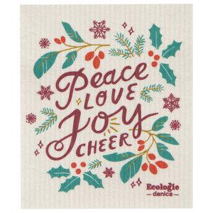 Swedish Cloth Swedish Cloth Christmas Peace & Joy