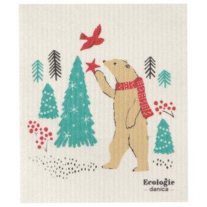 Swedish Cloth Swedish Cloth Christmas Winter Wilderland