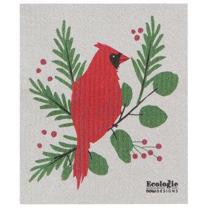 Swedish Cloth Swedish Cloth Christmas Forest Cardinals