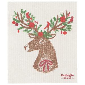 Swedish Cloth Swedish Cloth Christmas Dasher Deer