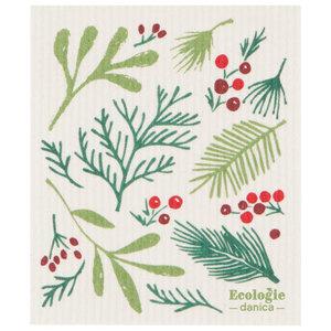 Swedish Cloth Swedish Cloth Christmas Bough & Berry