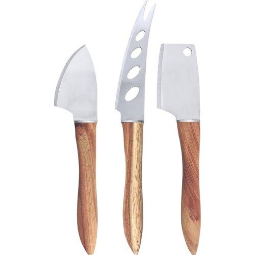 Swissmar ACACIA Cheese Knives/ Set of 3