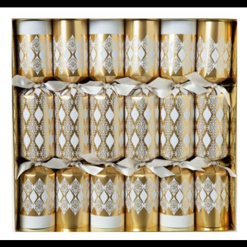 Option2 CRACKERS WHITE & GOLD ELEGANCE