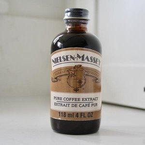 NIELSEN-MASSEY PURE COFFEE EXTRACT 4 0Z. NEILSEN-MASSEY