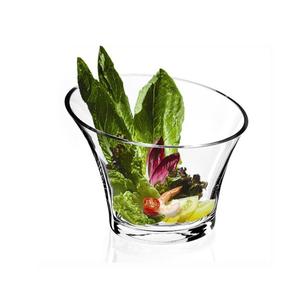 Natural Living SLANT Glass Salad Bowl