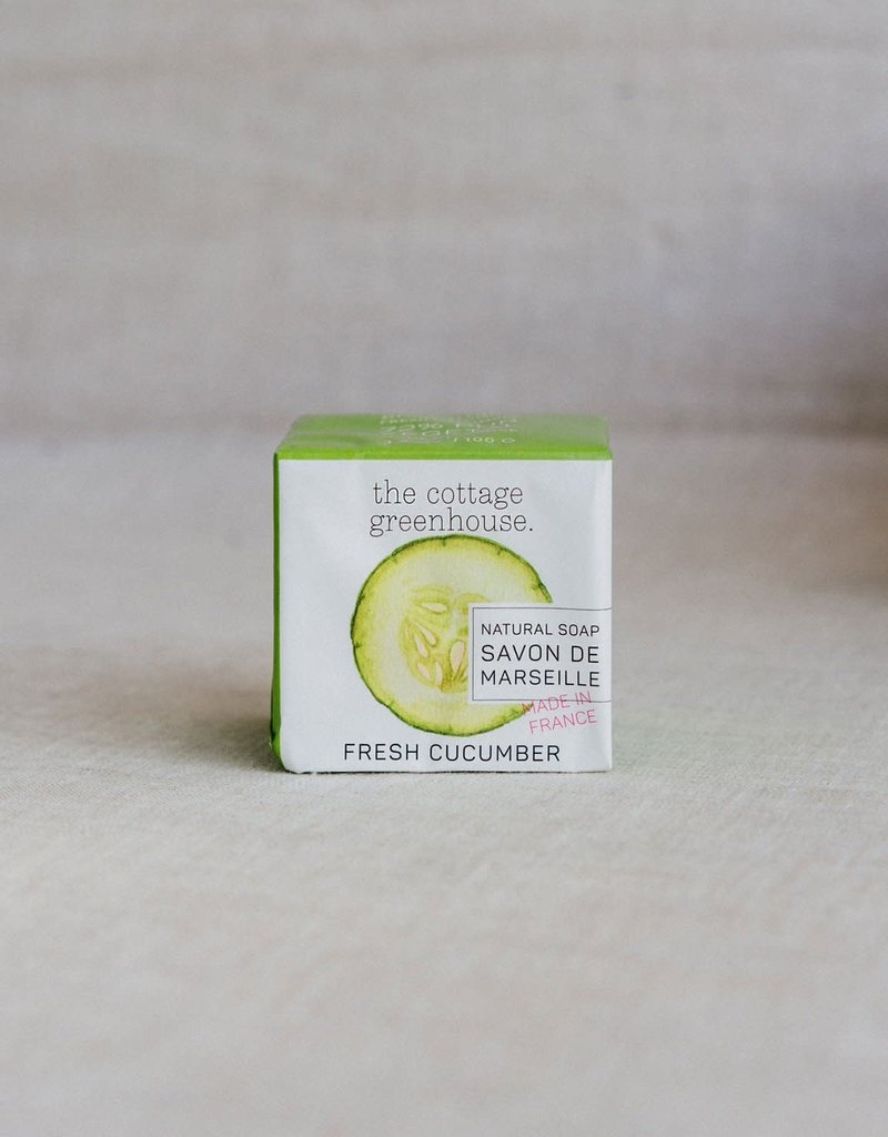 COTTAGE GREENHOUSE NATURAL SOAP | FRESH CUCUMBER