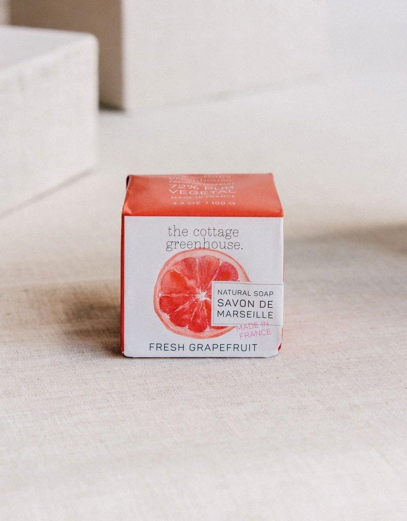 COTTAGE GREENHOUSE NATURAL SOAP   FRESH GRAPEFRUIT