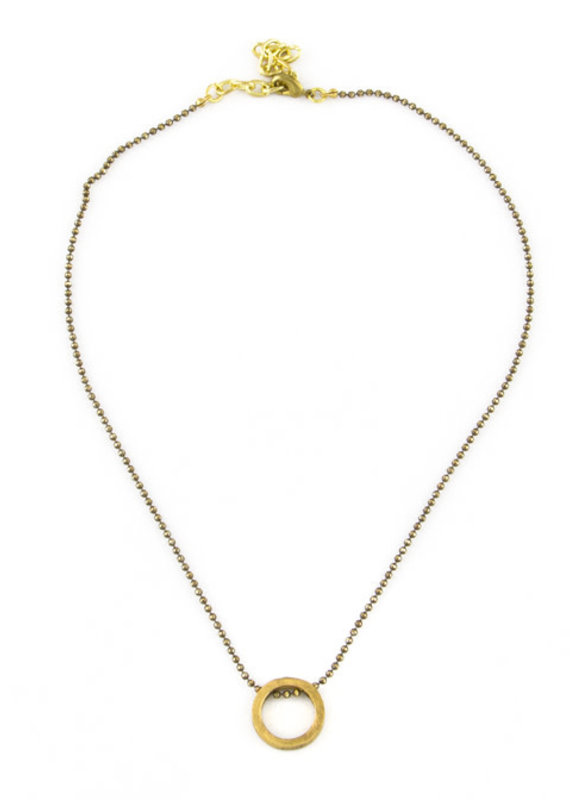 SANTORE O-RING CHOKER NECKLACE