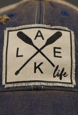 VINTAGE LIFE LAKE LIFE TRUCKER HAT