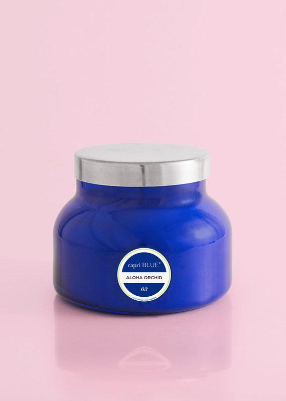 CAPRI BLUE ALOHA ORCHID BLUE SIGNATURE CANDLE
