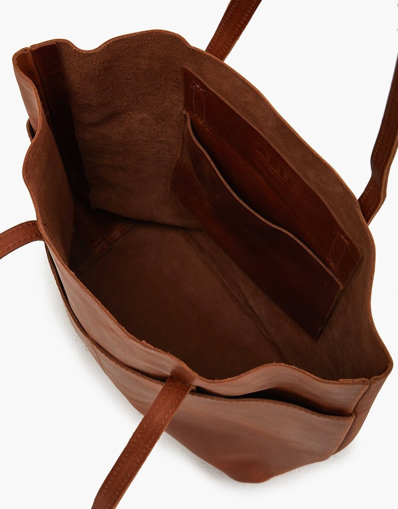 ABLE SELAM MAGAZINE TOTE - WHISKEY