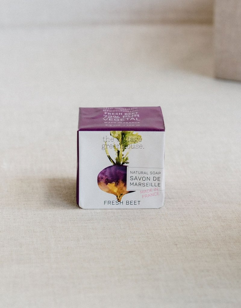 COTTAGE GREENHOUSE NATURAL SOAP | FRESH BEET