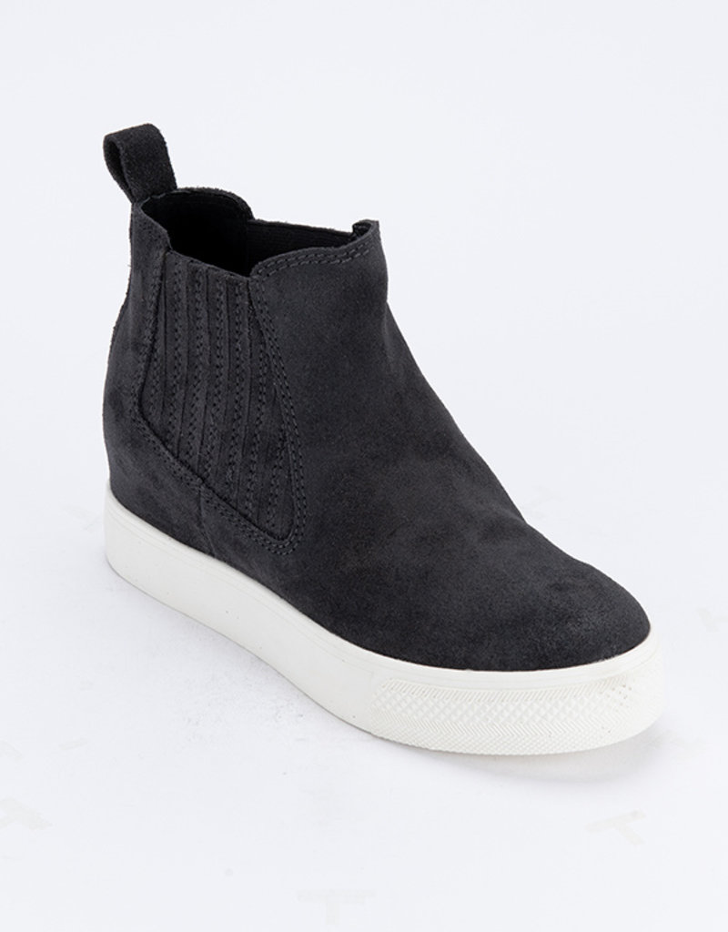 DOLCE VITA WYND HEELED SNEAKER - ANTHRACITE