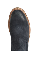 SOFFT SHOES LEAH ANKLE BOOT - BLUE SUEDE