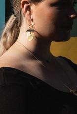 LARISSA LODEN ROSALIND EARRINGS - GOLD