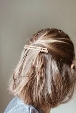 NAT + NOOR LEIA HAIR CLIP - BLACK+TAN