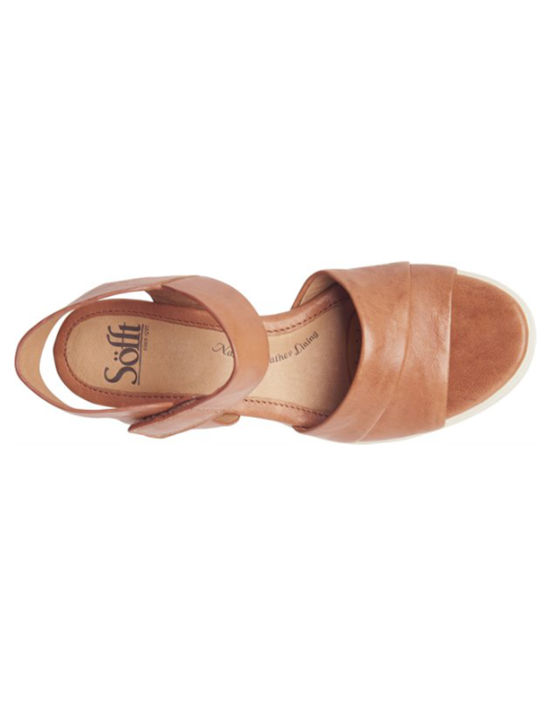 SOFFT SHOES SAMYRA WEDGE - LUGGAGE