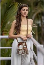 MYRA FUNKY FRINGE HAIRON SMALL & CROSSBODY BAG