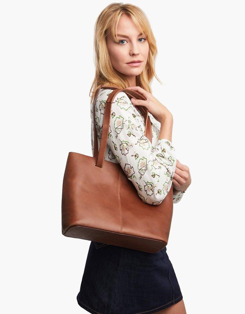 ABLE NELITA SHOULDER BAG - WHISKEY
