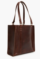 ABLE ELSABET TOTE - CHOCOLATE