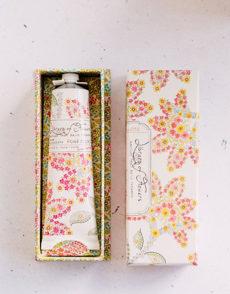LIBRARY OF FLOWERS HONEYCOMB - HAND CREME