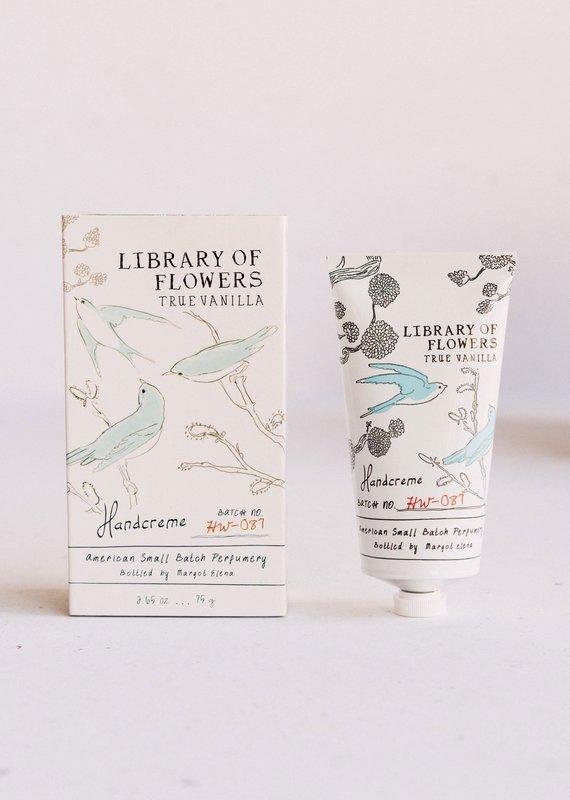 LIBRARY OF FLOWERS TRUE VANILLA - HAND CREME