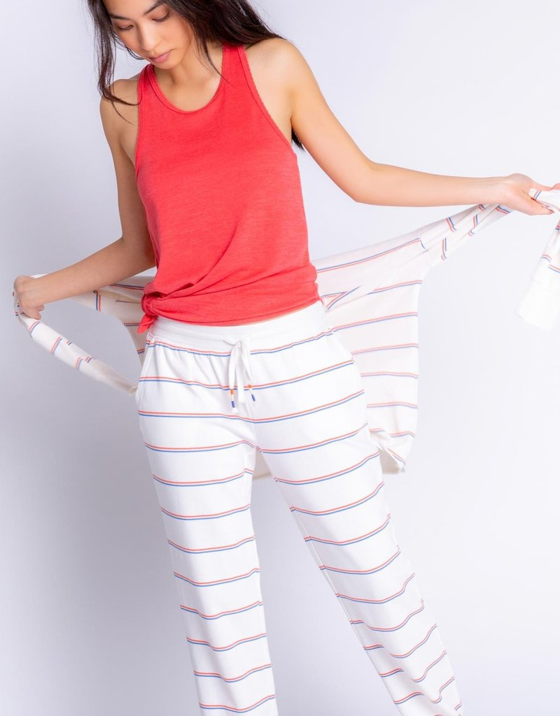 PJ SALVAGE KINDNESS RULES BANDED PANT