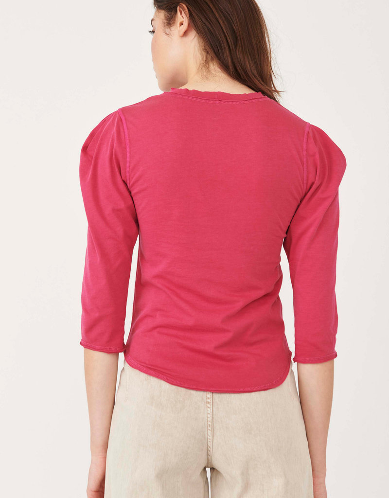 FREE PEOPLE CLOVER TOP - ROSE HYPNOTIC