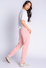FADE AWAY BANDED PANT ROSE