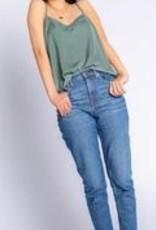 PJ SALVAGE SISTER SATIN CAMI