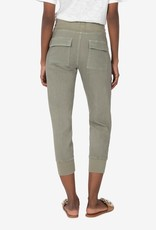 KUT FROM THE KLOTH MIRABELLA DRAWCORD JOGGER-OLIVE
