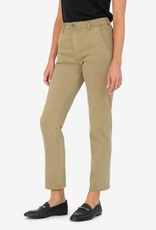 KUT FROM THE KLOTH ELIZABETH HIGH RISE FAB AB ANKLE STRAIGHT LEG-MOSS GREEN