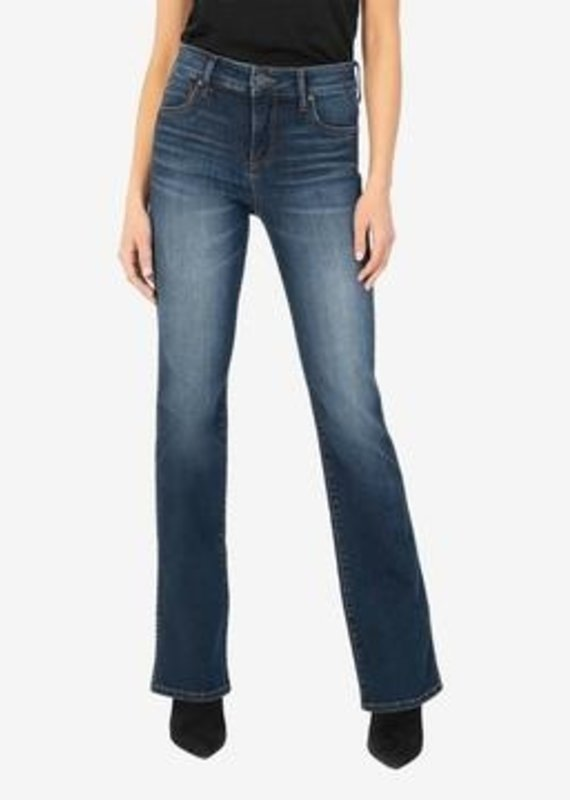 KUT FROM THE KLOTH NATALIE HIGH RISE FAB AB BOOTCUT-MONUMENT WASH