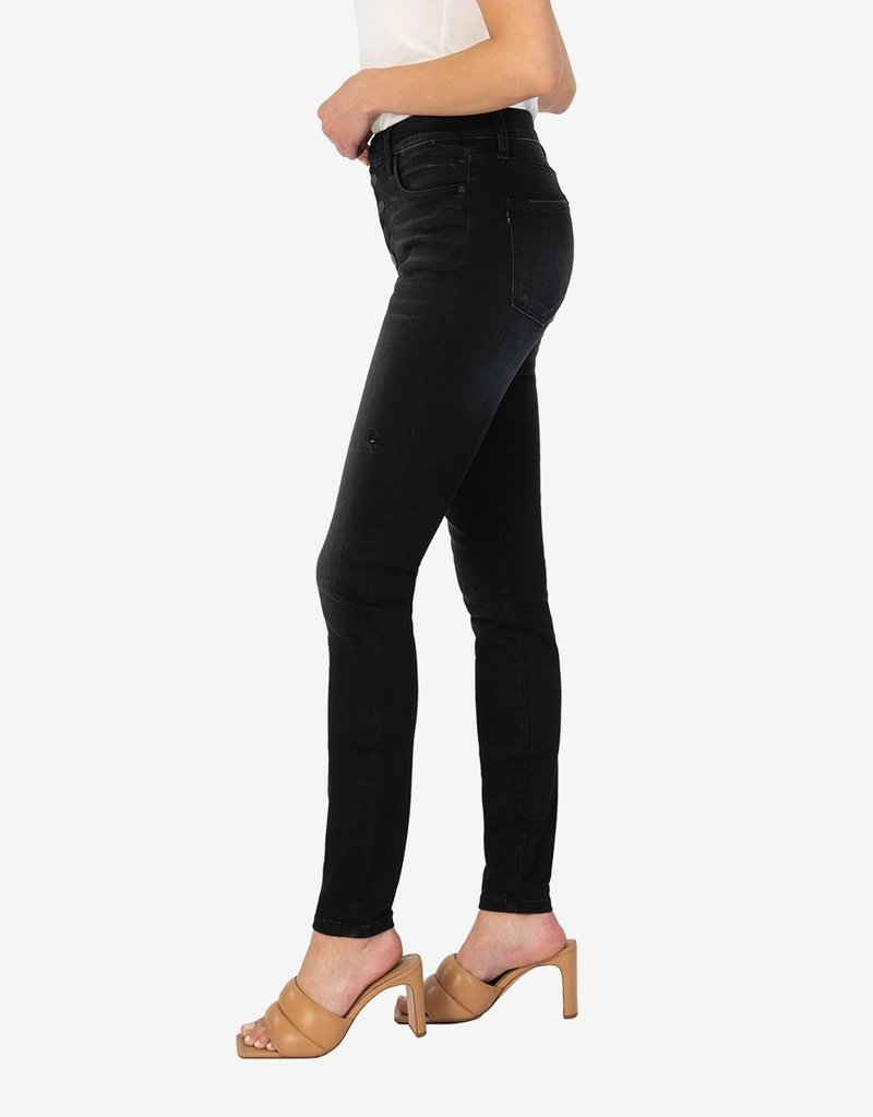 KUT FROM THE KLOTH MIA HIGH RISE FAB AB SLIM FIT SKINNY-ENTHUSED WASH