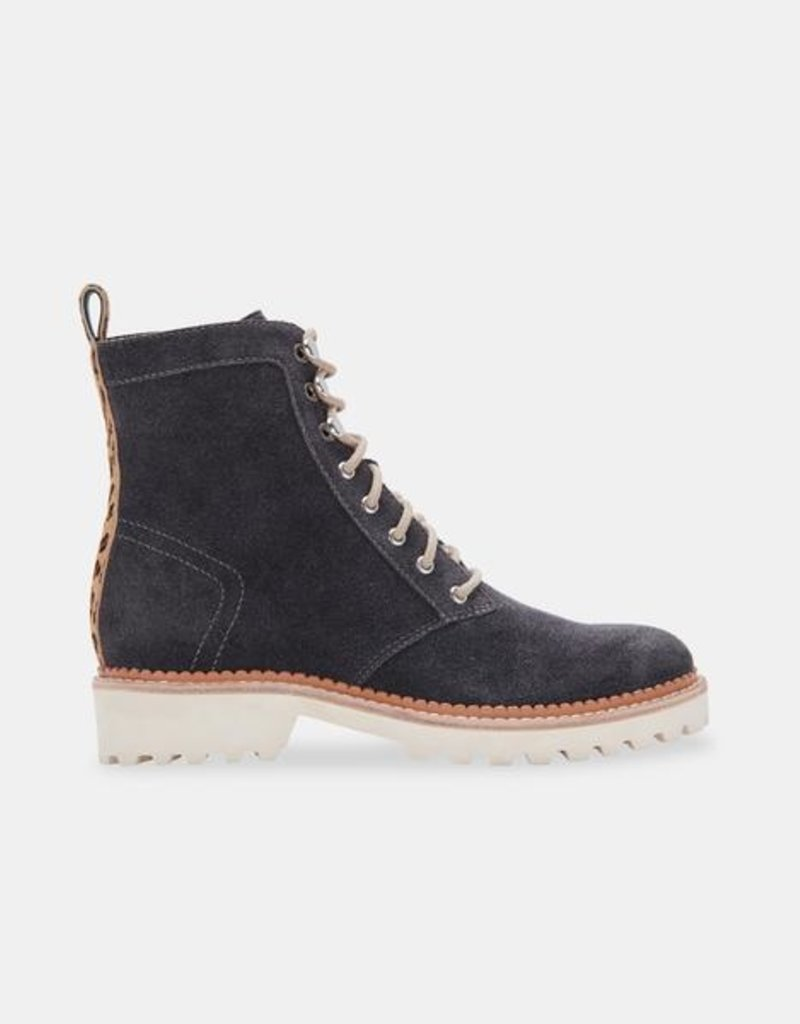 DOLCE VITA AVENA BOOTS IN ANTHRACITE SUEDE