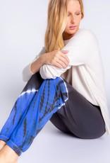 PJ SALVAGE  SLOUNGE BANDED PANT | COBALT