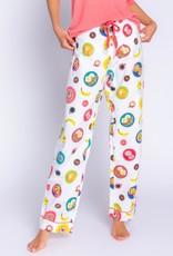 PJ SALVAGE FLANNEL PANT   I LOVE YOU BRUNCH