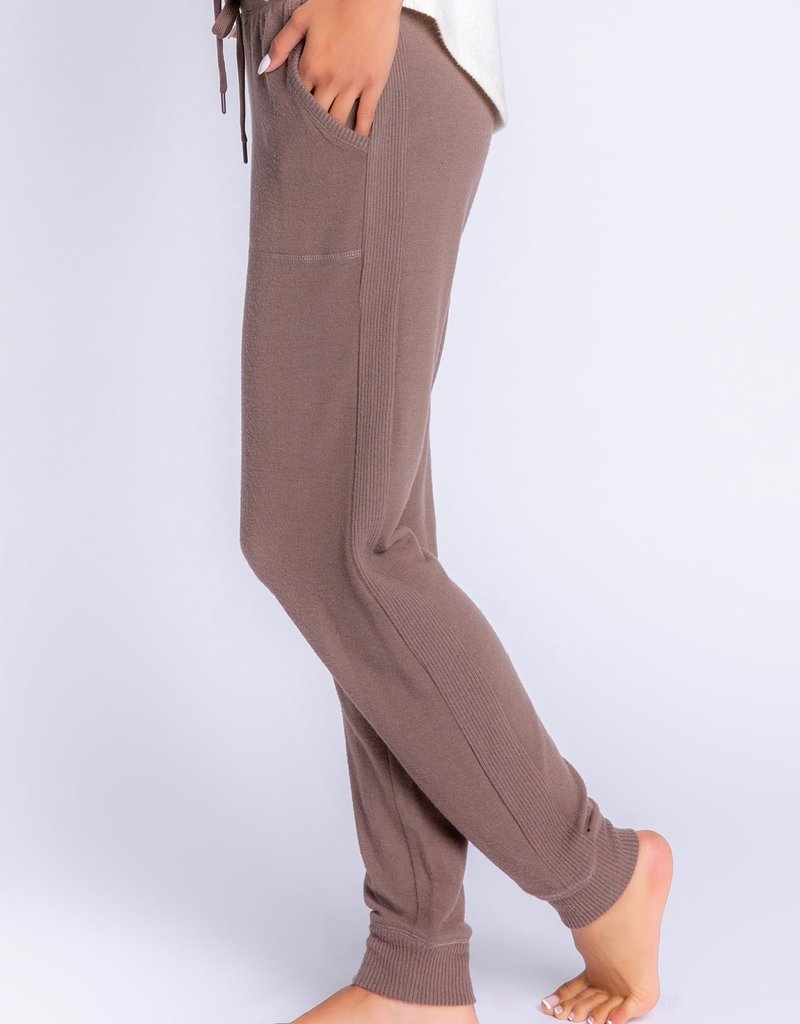 PJ SALVAGE PEACHY IN COLOR BANDED PANT