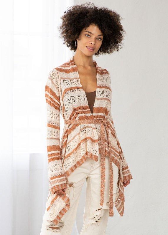 LOVESTITCH LOVESTITCH   IMP-5305   Fleetwood Crochet Cardigan