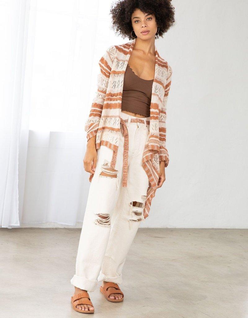 LOVESTITCH LOVESTITCH | IMP-5305 | Fleetwood Crochet Cardigan
