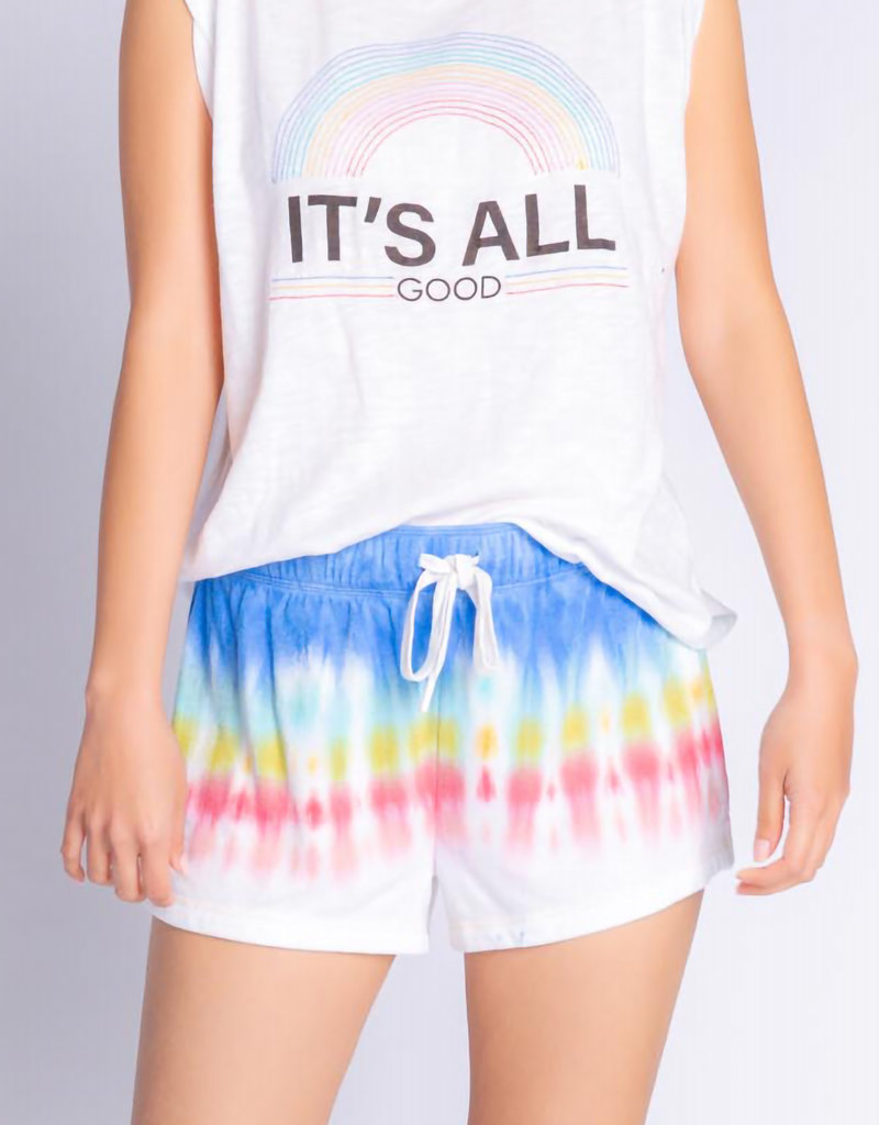 PJ SALVAGE It's All Good Rainbow Sunsets Tank