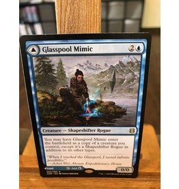 Magic Glasspool Mimic // Glasspool Shore  (ZNR)