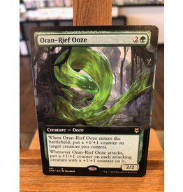 Magic Oran-Rief Ooze  (ZNR)(EXTENDED ART)