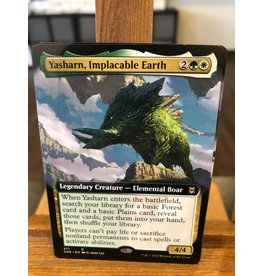 Magic Yasharn, Implacable Earth  (ZNR)(EXTENDED ART)