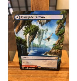 Magic Riverglide Pathway // Lavaglide Pathway  (ZNR)(ALTERNATE-ART BORDERLESS)