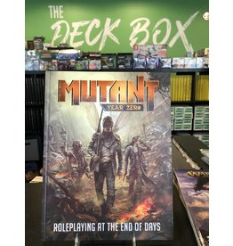 Role Playing Games MUTANT: YEAR ZERO RPG HC