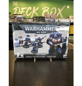 Warhammer 40K Assault Intercessors + Paints Set